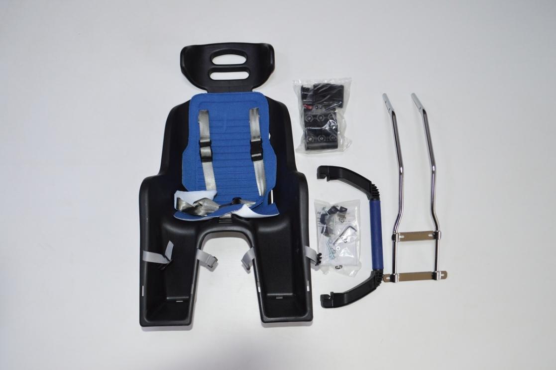 Кресло детское SW-BC-137 пластик крепл.назад красное, код 69807