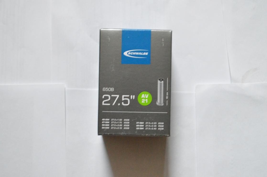 """Камера Schwalbe 27,5"""" (40/62-584) AV21 40мм EK AGV"""