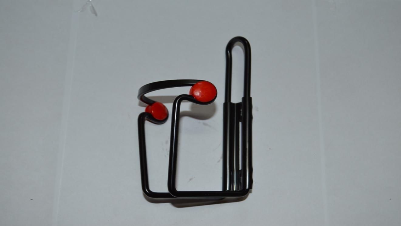 Флягодержатель алюминиевый с пластиковой вставкой SF-Y06C, код 40318